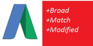 Google AdWords Broad Match Modified